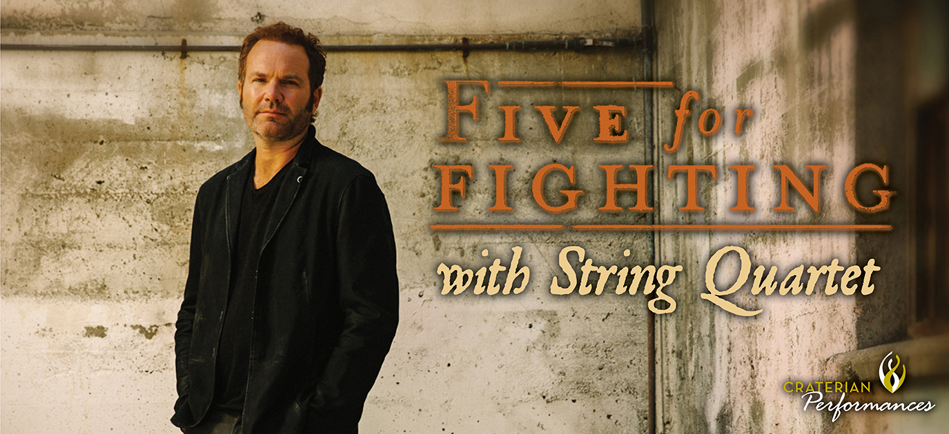 Five for Fighting with String Quartet
