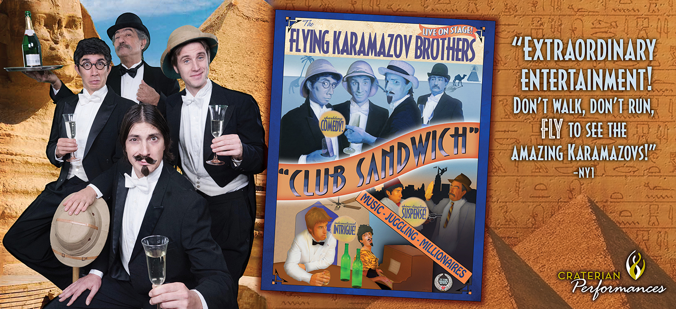 Flying Karamazov Brothers, Club Sandwich