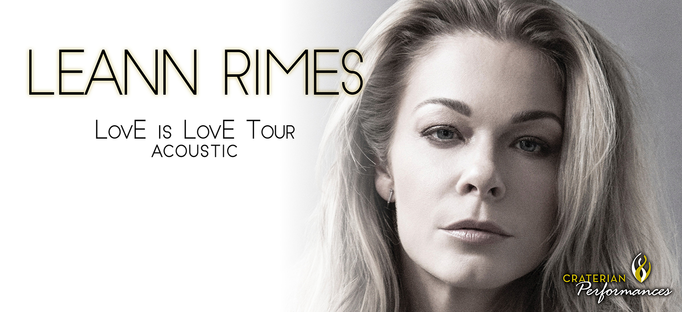 LeAnn Rimes - LovE is LovE Tour Acoustic