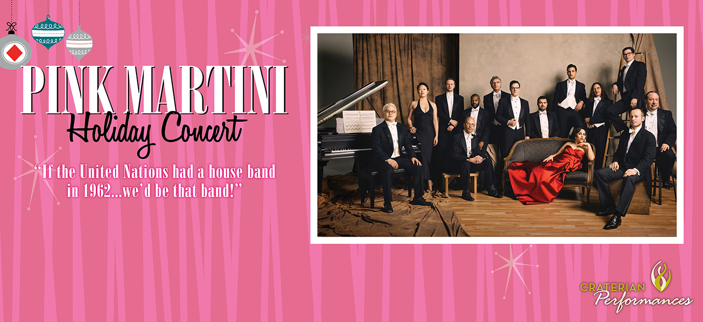 Pink Martini Holiday Concert