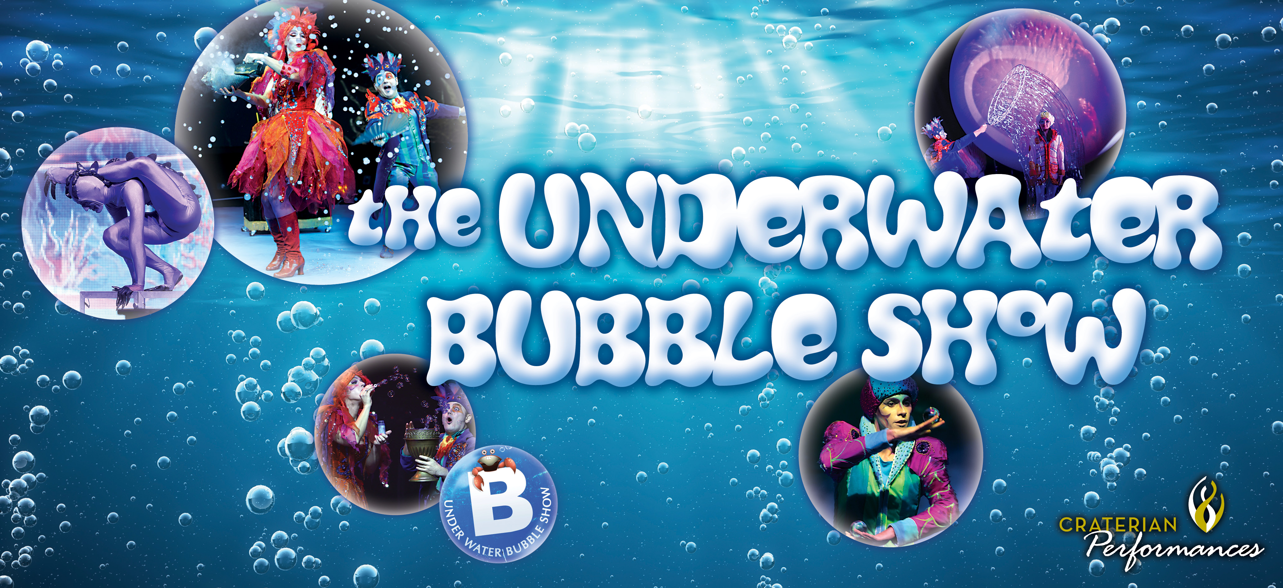 Underwater Bubble Show