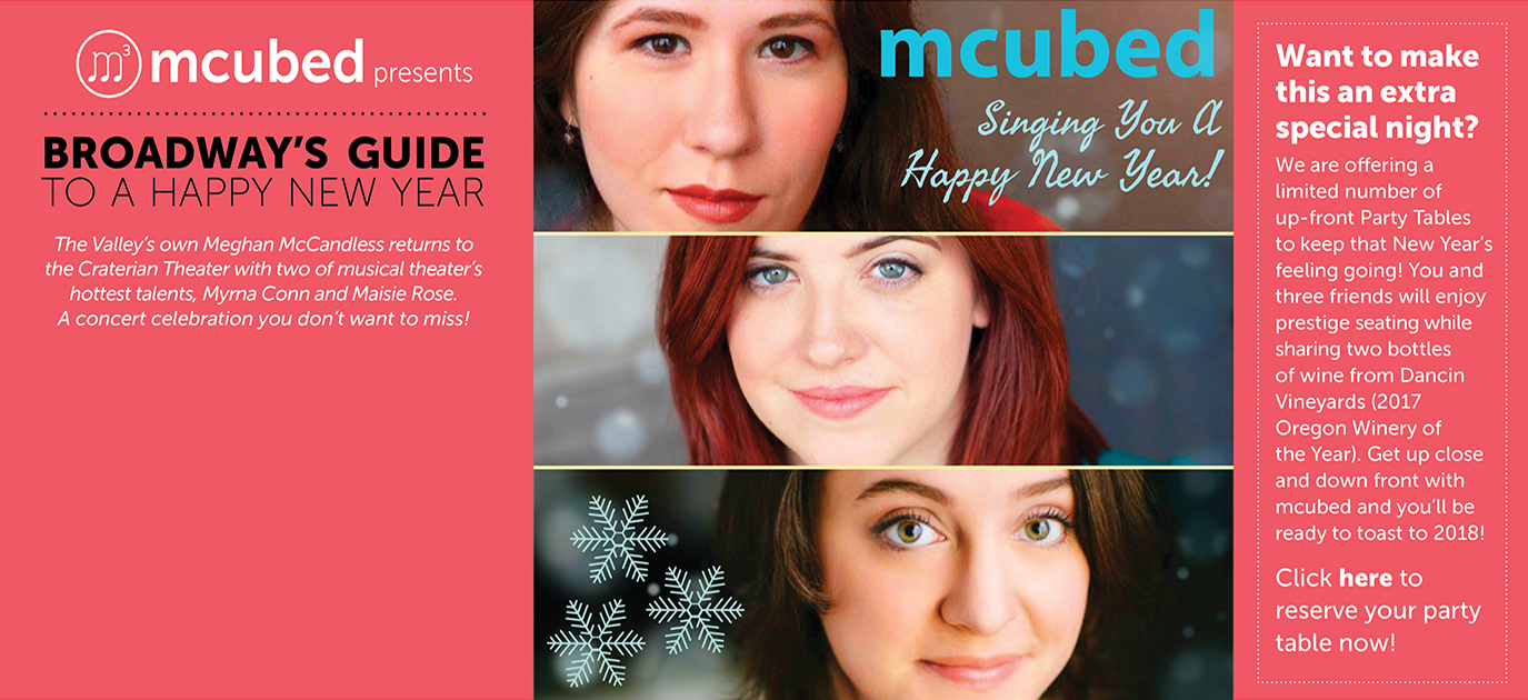 mcubed Presents Broadway's Guide to a Happy New Year