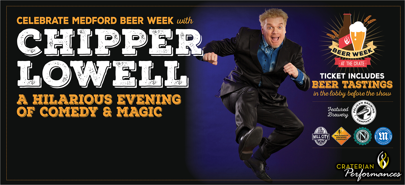 Chipper Lowell - A Hilarious Evening Of Award-Winning Comedy & Magic!