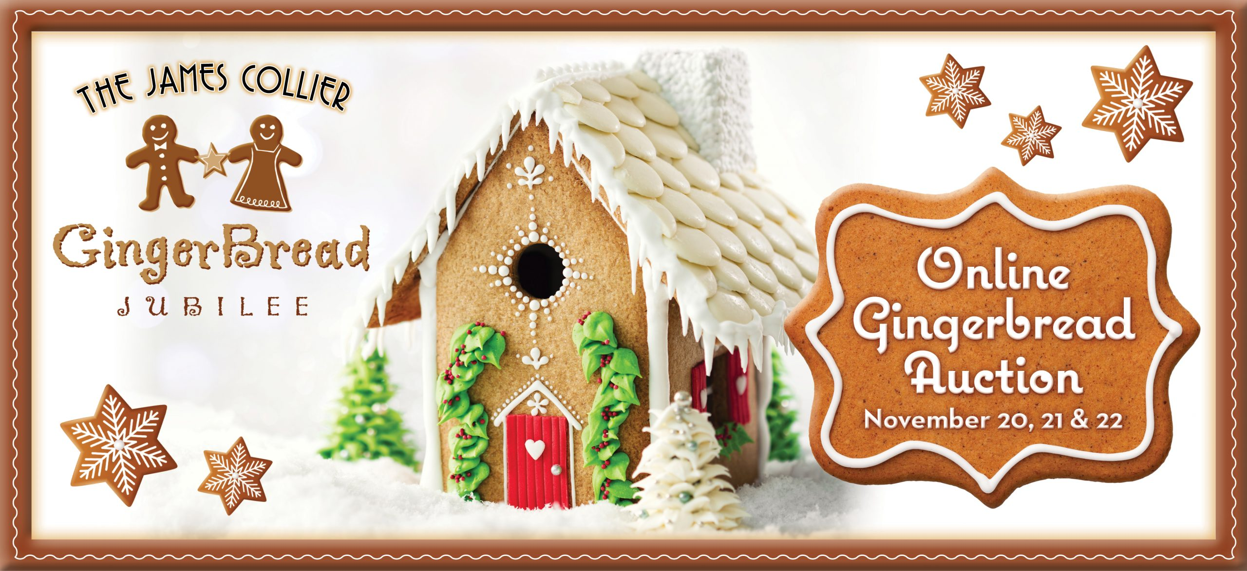 James Collier GingerBread Jubiless - Gingerbread Online Auction Nov. 20, 21, & 22