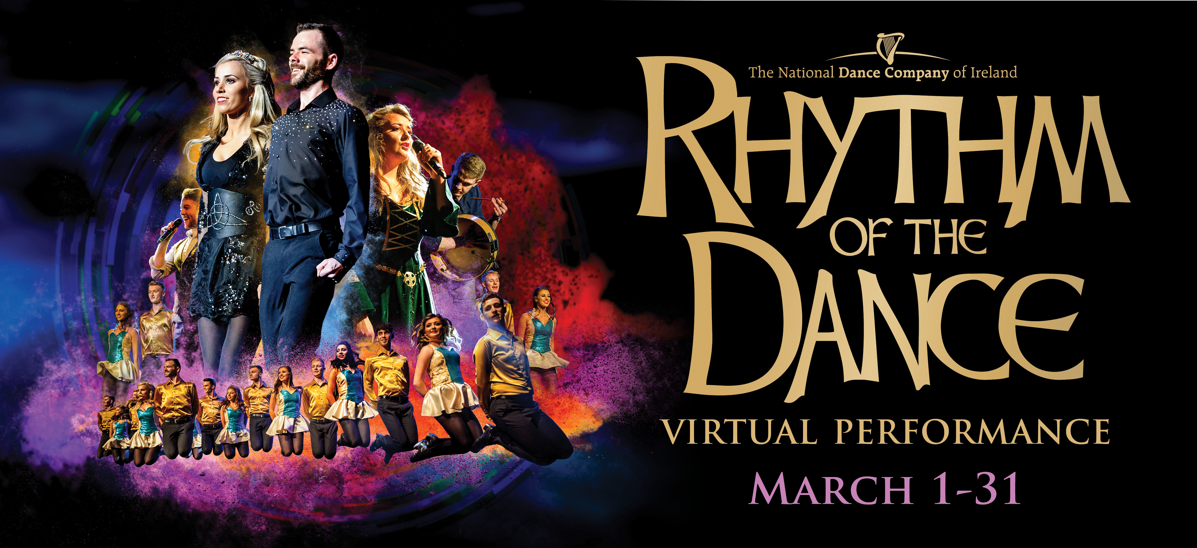 RHYTHM OF THE DANCE (Virtual) March 1- 31