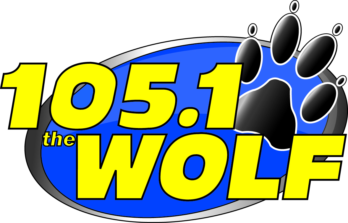 105.1 the WOLF-logo